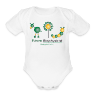 Baby Bodysuits ~ Baby Short Sleeve One Piece ~ Future Biophysicist Short Sleeve