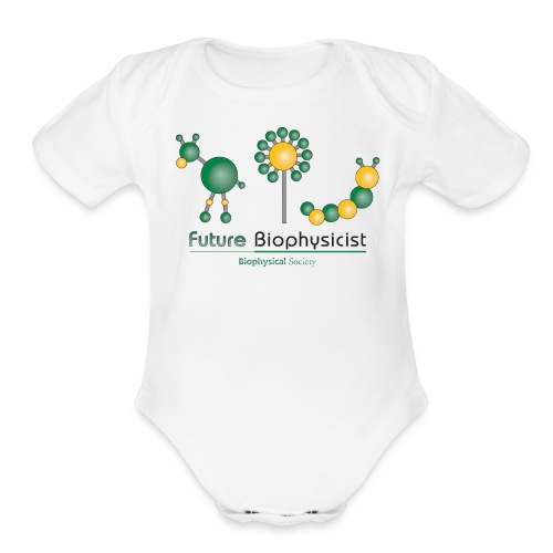 Future Biophysicist Short Sleeve   - Organic Short Sleeve Baby Bodysuit