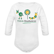 Baby Bodysuits ~ Baby Long Sleeve One Piece ~ Future Biophysicist Long Sleeve