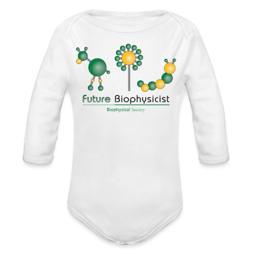 Future Biophysicist Long Sleeve   - Organic Long Sleeve Baby Bodysuit