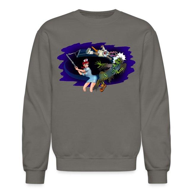 Nurse Zombie Fighter Sweatshirt