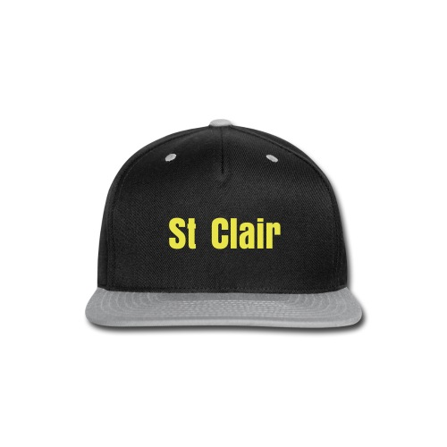 Black & Yellow St Clair - Snap-back Baseball Cap