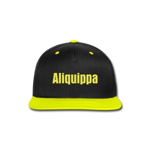 Black & Yellow Aliquippa - Snap-back Baseball Cap