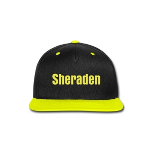 Black & Yellow Sheraden - Snap-back Baseball Cap
