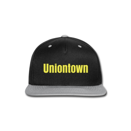 Black & Yellow Uniontown - Snap-back Baseball Cap