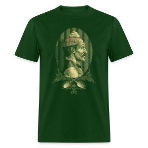 Zombie's Sundae (Forest Green Tee) - Men's T-Shirt