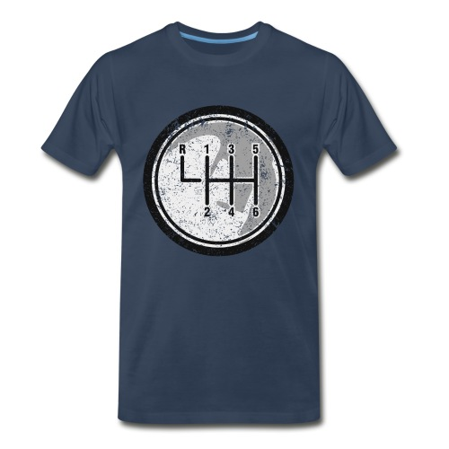 6 Speed Shifter - Men's Premium T-Shirt