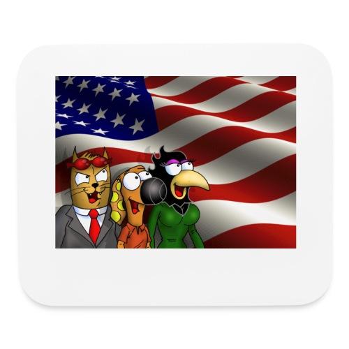 Rantdog & Friends America - Mouse pad Horizontal