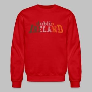 Dublin Ireland Flag - Crewneck Sweatshirt