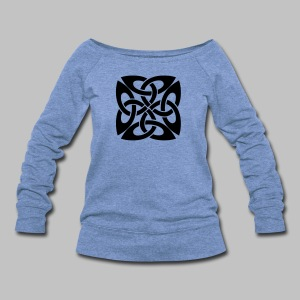 Celtic Knot Ire - Women's Wideneck Sweatshirt