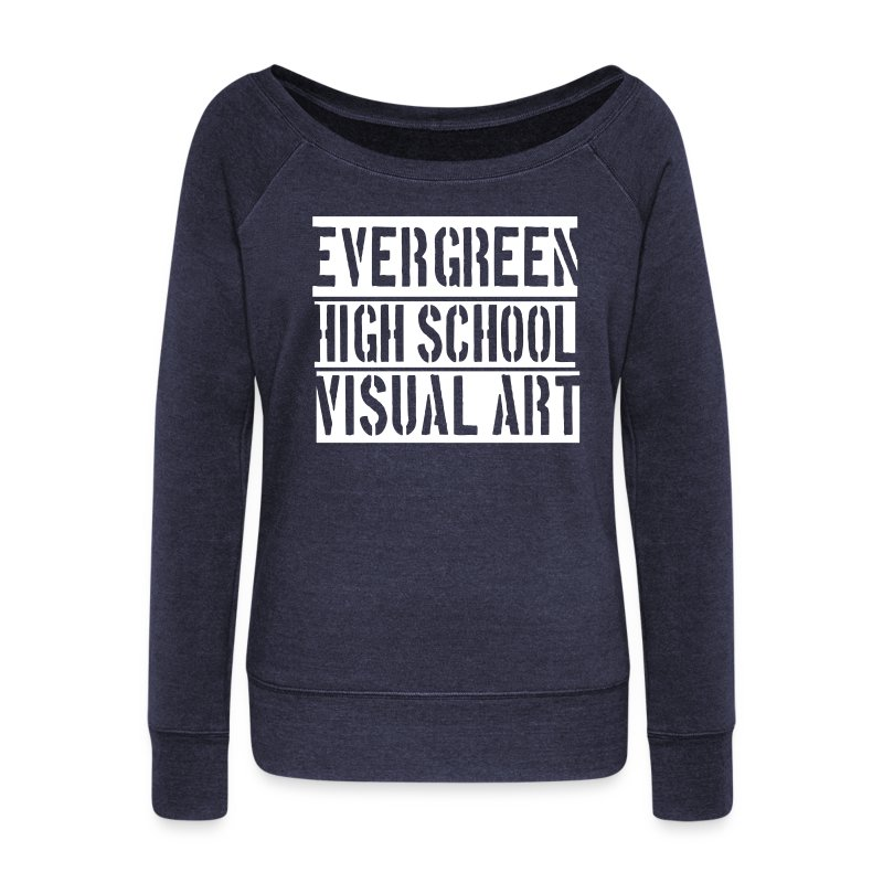 ehs visual art - Women's Wideneck Sweatshirt