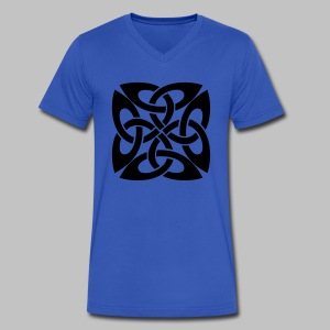Celtic Knot Ire - Men's V-Neck T-Shirt by Canvas