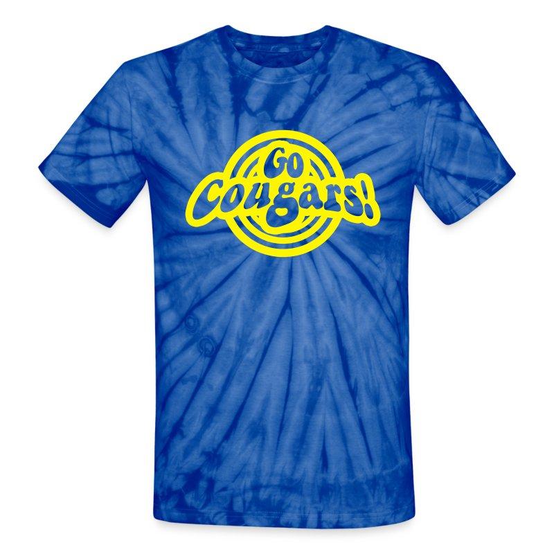 go cougars 70s - Unisex Tie Dye T-Shirt