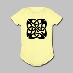 Celtic Knot Ire - Short Sleeve Baby Bodysuit