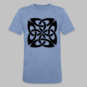 Celtic Knot Ire - Unisex Tri-Blend T-Shirt by American Apparel