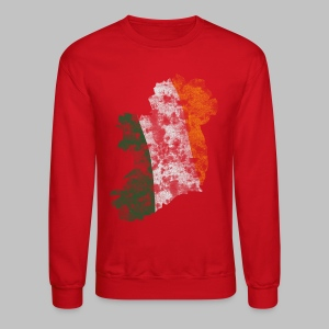 Ireland Flag Distressed - Crewneck Sweatshirt