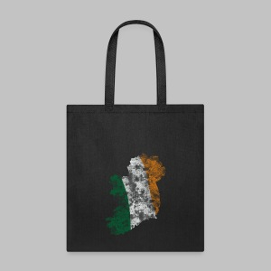 Ireland Flag Distressed - Tote Bag