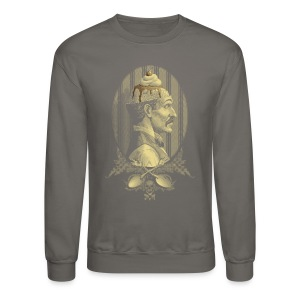 Zombie's Sundae (Graphite Sweatshirt) - Crewneck Sweatshirt