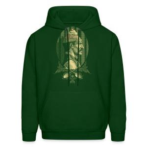 Zombie's Sundae (Forest Green Hoodie) - Men's Hoodie