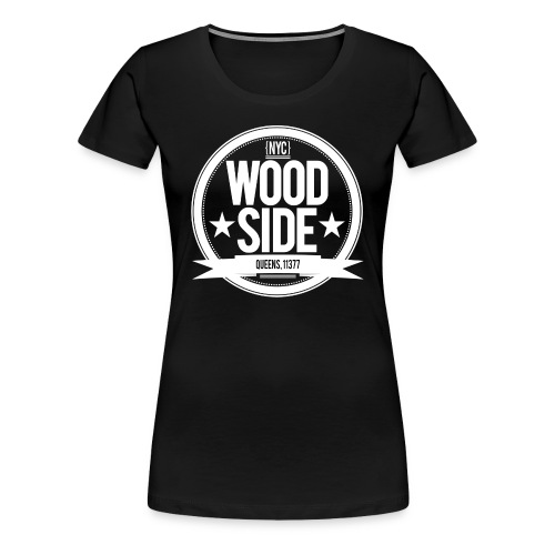 Women's Woodside Seal Black - Women's Premium T-Shirt