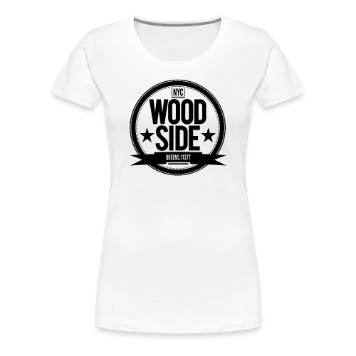 Women's Woodside Seal White - Women's Premium T-Shirt