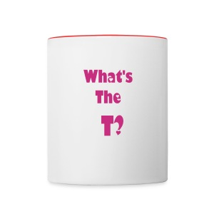 What's the T Cup - Contrast Coffee Mug