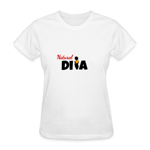 Natural Diva shirt - Women's T-Shirt