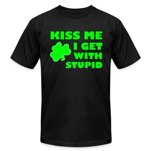 The Black Irish - Men's Fine Jersey T-Shirt