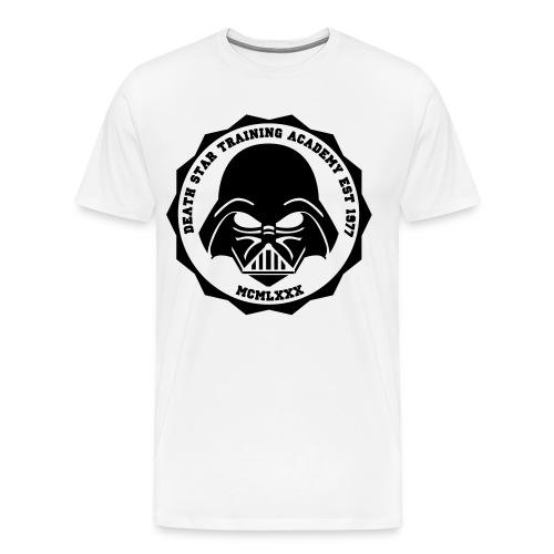 Death Star Training Academy  - Men's Premium T-Shirt