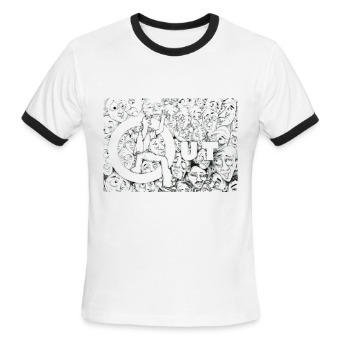Out boy - Men's Ringer T-Shirt
