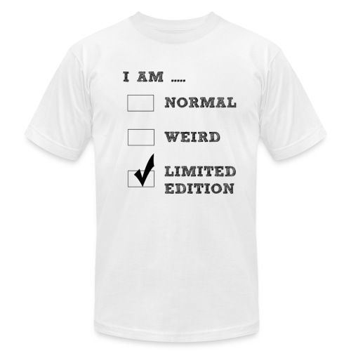 I AM LIMITED EDITION - Men's Fine Jersey T-Shirt