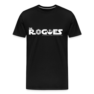 The Rogues  (with back image) - Men's Premium T-Shirt