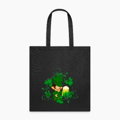 Happy Leprechaun Tote Bag