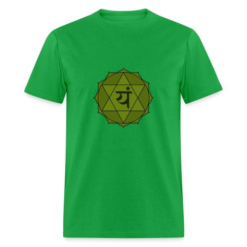 Heart Chakra Green - Men's T-Shirt