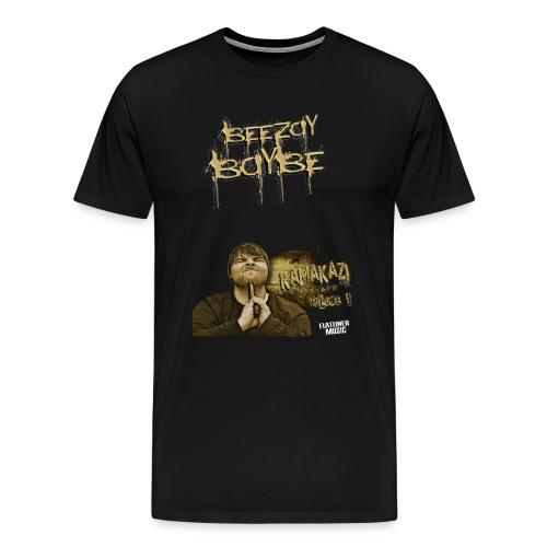 Beezay Baybe KamaKaZi Tee - Men's Premium T-Shirt