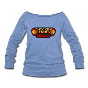 Chicken Dinner Grill Sweatshirt | $38.90 - Women's Wideneck Sweatshirt