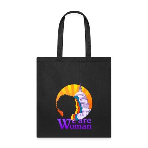 We Are Woman Logo Tote - Tote Bag