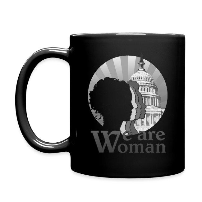 We Are Woman Logo Mug