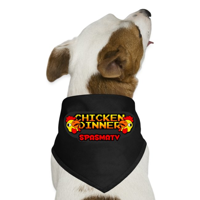 spaZchicken Doggie Bandana  | $13.90