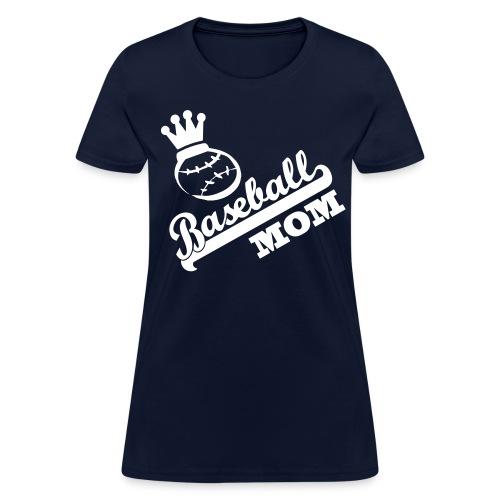 Baseball Mom - Women's T-Shirt