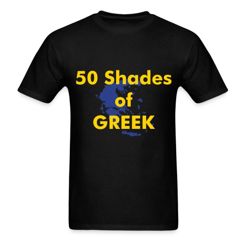 50 shades of Greek - Men's T-Shirt