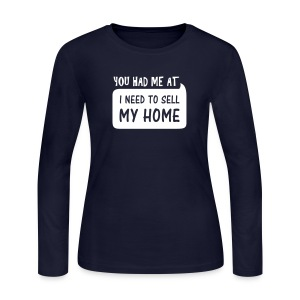 You had me at Jersey Long - Women's Long Sleeve Jersey T-Shirt