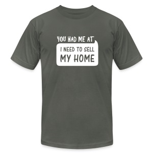 You had me at AA - Men's T-Shirt by American Apparel