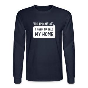 You had me at Long Tee - Men's Long Sleeve T-Shirt