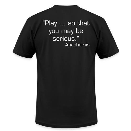 Men's Anacharsis, Play - Men's  Jersey T-Shirt