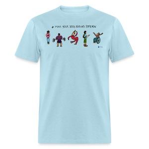 Move Your Body Around Somehow - Men - Men's T-Shirt