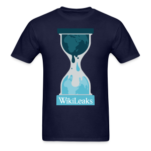 WikiLeaks Protest T-Shirt - Men's T-Shirt