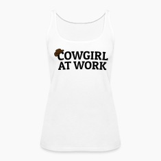 Cowgirls at work Tanks