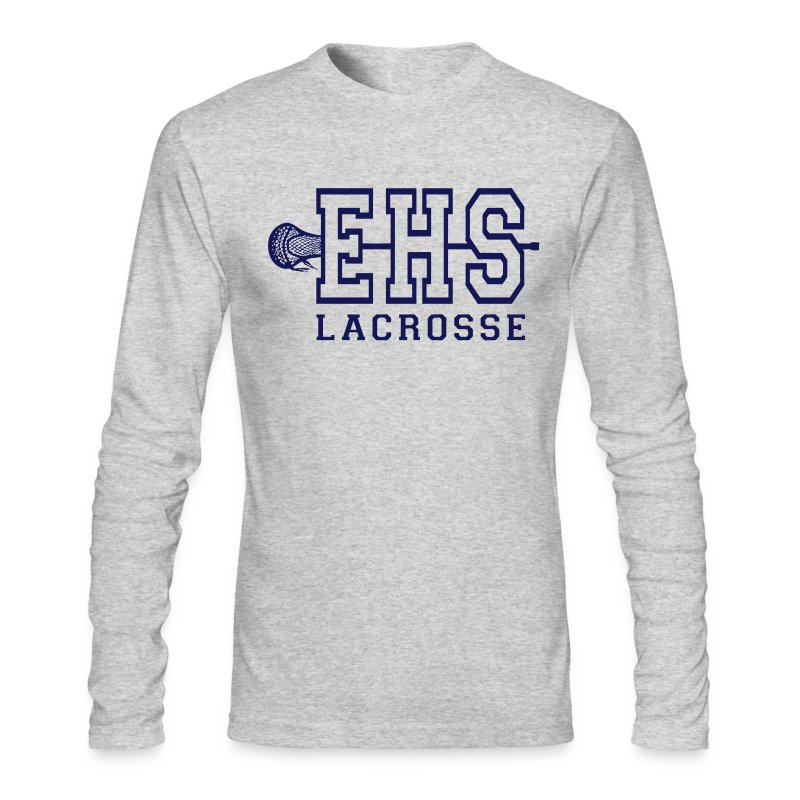EHS lax - Men's Long Sleeve T-Shirt by Next Level