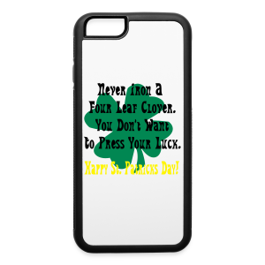 St. Patricks Day design - iPhone 6/6s Rubber Case